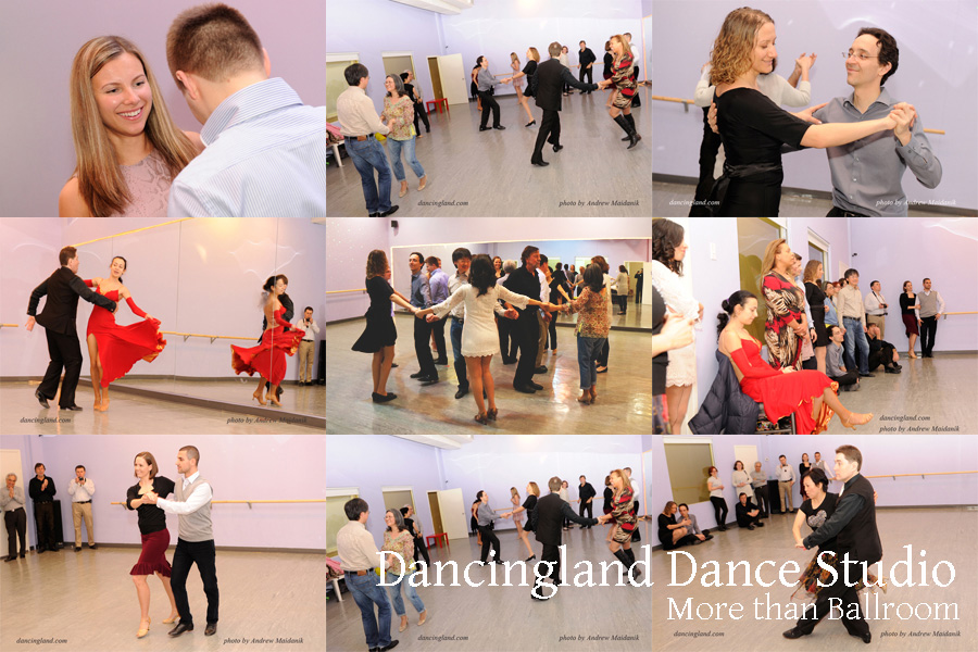 dance party at the dancingland dance studio