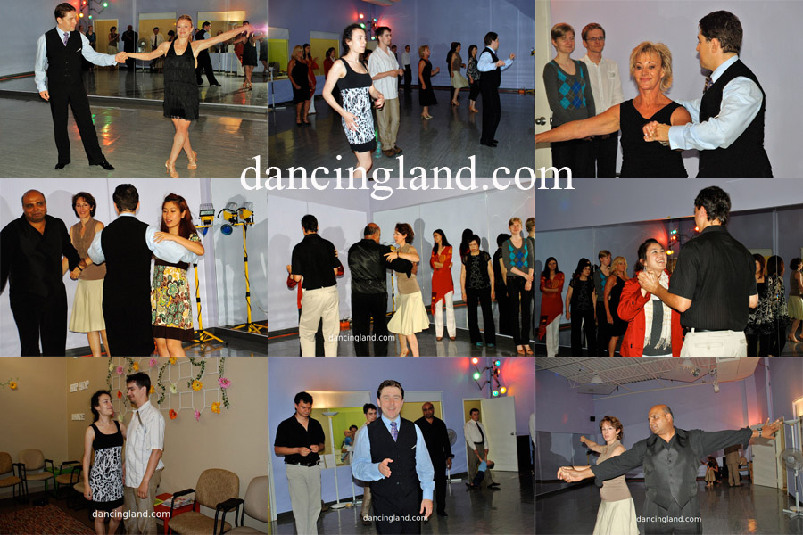 July 2009 social dance party gallery