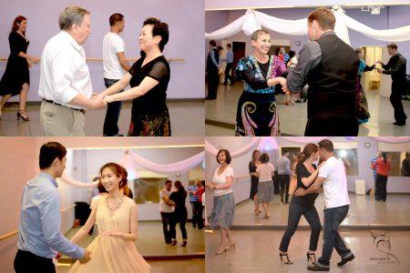 social dance event