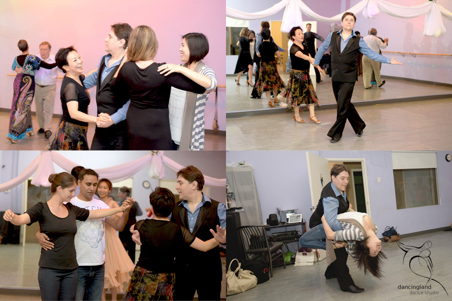 social ballroom dance party