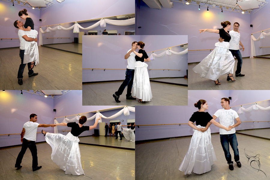 wedding first dance practice