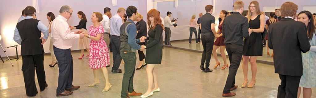 Social dancing parties - soirees