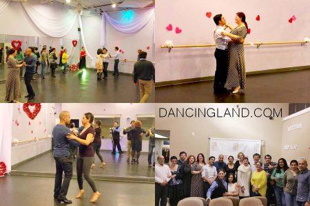Dancing socials
